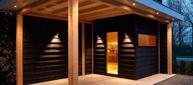 Eigen sauna