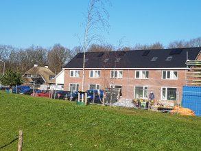 nieuwbouw hellend dak